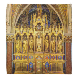 Main Altar In Votivkirche, Vienna Austria Bandana