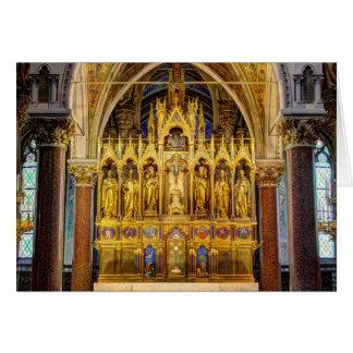 Main Altar In Votivkirche, Vienna Austria Card