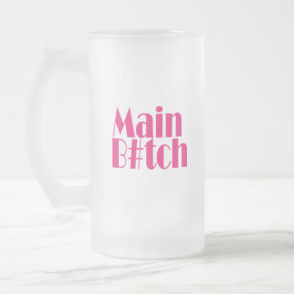 Main-B-Pink.gif Frosted Glass Beer Mug