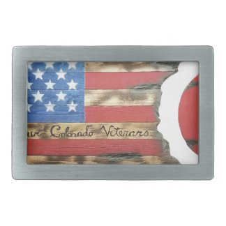 Main_Colorado_Veterans Rectangular Belt Buckles
