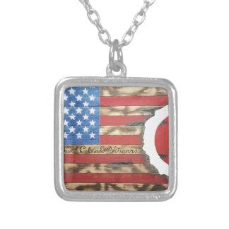 Main_Colorado_Veterans Silver Plated Necklace