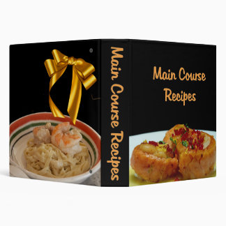 Main Course Recipes Keepsake Binder