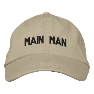 Main Man Embroidered Hat