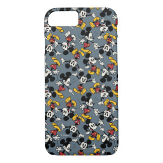 Main Mickey Shorts | Blue Icon Pattern iPhone 8/7 Case
