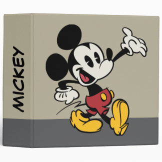 Main Mickey Shorts | Classic Mickey Binder