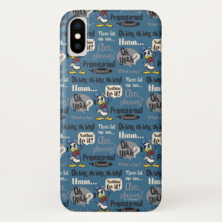 Main Mickey Shorts | Donald Duck Blue Pattern iPhone X Case