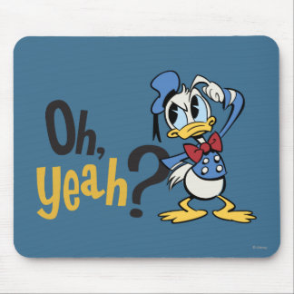 Main Mickey Shorts | Donald Scratching Head Mouse Pad