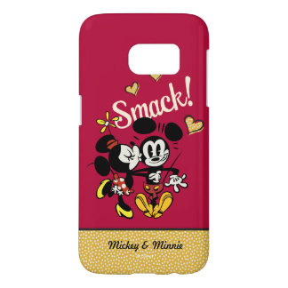 Main Mickey Shorts | Kiss on Cheek Samsung Galaxy S7 Case