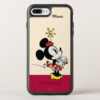 Main Mickey Shorts   Minnie Hand to Face OtterBox Symmetry iPhone 7 Plus Case