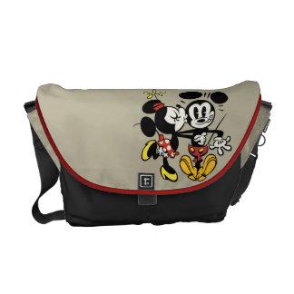Main Mickey Shorts | Minnie Kissing Mickey Commuter Bag