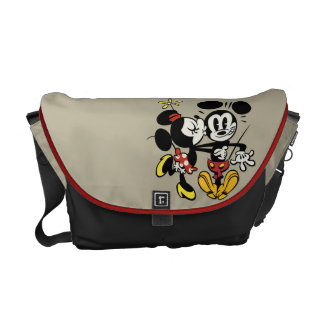 Main Mickey Shorts | Minnie Kissing Mickey Messenger Bag