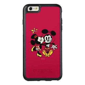 Main Mickey Shorts | Minnie Kissing Mickey OtterBox iPhone 6/6s Plus Case