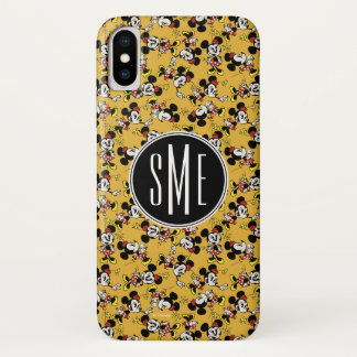 Main Mickey Shorts | Minnie Mouse Monogram iPhone X Case
