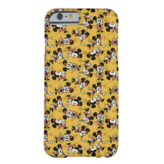 Main Mickey Shorts | Minnie Mouse Orange Pattern Barely There iPhone 6 Case