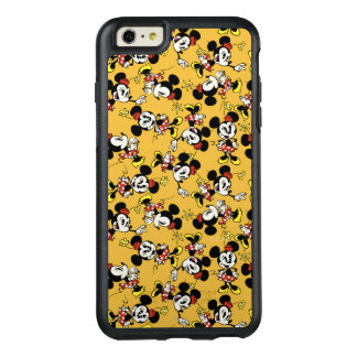 Main Mickey Shorts | Minnie Mouse Orange Pattern OtterBox iPhone 6/6s Plus Case