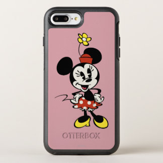 Main Mickey Shorts   Minnie Mouse OtterBox Symmetry iPhone 7 Plus Case