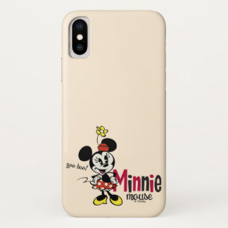 Main Mickey Shorts | Minnie Mouse Sweet iPhone X Case
