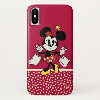 Main Mickey Shorts | Minnie Shopping Case-Mate iPhone Case