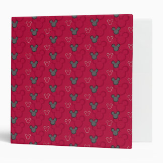 Main Mickey Shorts | Red Icon Pattern Vinyl Binders