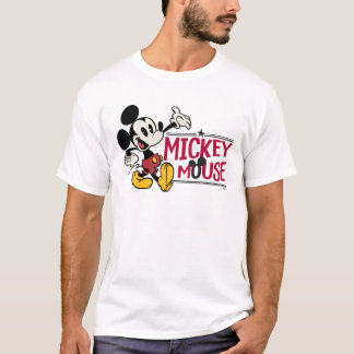 Main Mickey Shorts | Strutting T-Shirt
