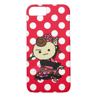 Main person of sumahokesu (hard) iPhone 8/7 case