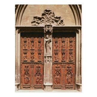 Main Portal of the Saint-Sauveur Cathedral Postcard