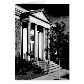 Main Post Office McMinnville Tennessee Card