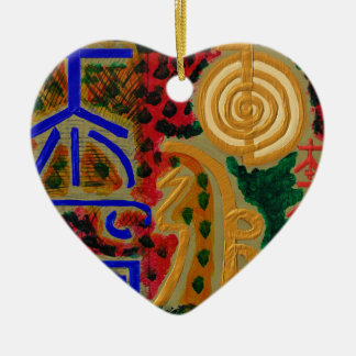 Main ReikiHealingArt Symbol Ceramic Ornament