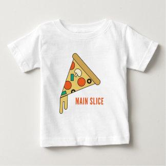 Main Slice Pizza Baby T-Shirt
