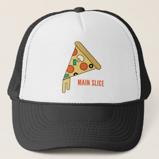 Main Slice Pizza Shirt Trucker Hat