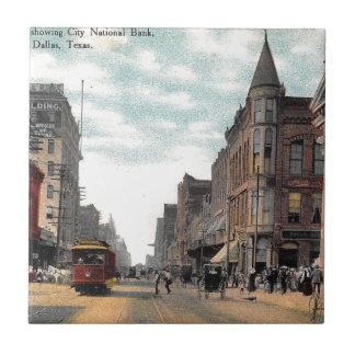 Main St., Dallas, Texas, Vintage Tile