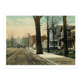 Main St., Matawan, New Jersey 1910 Vintage Postcard