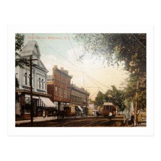 Main St., Matawan, New Jersey Vintage Postcard