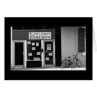 Main Street Bakery Card