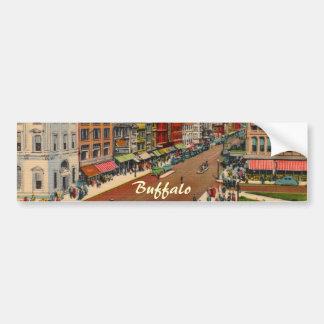 Main Street - Buffalo, NY Vintage Bumper Sticker