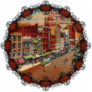 Main Street - Buffalo, NY Vintage Ornament Photo Sculpture Ornament