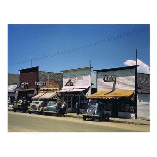 Main Street, Cascade, Idaho Vintage Postcard