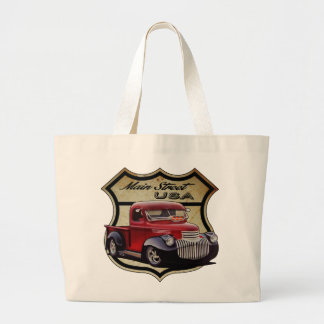Main Street Cruiser Large Tote Bag