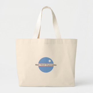 Main Street Deplorables Tote Bag