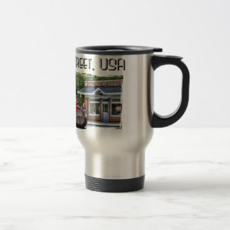 Main Street Hot Rod Travel Mug
