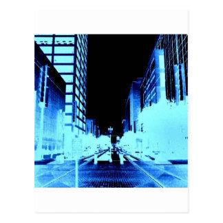 Main Street Houston Postcard