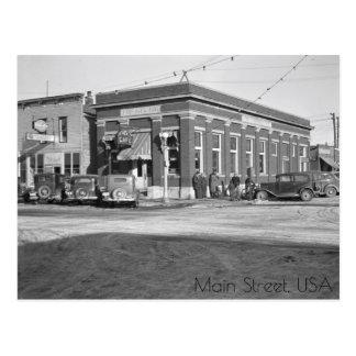 Main Street, Milford, Iowa Postcard