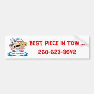 Main Street Pizza Bumper Sticker
