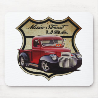 Main Street Street Rod Mouse Pad
