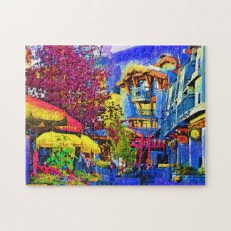 Main Street Whistler Jigsaw Puzzle