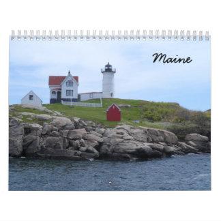 Maine 2018 calendar