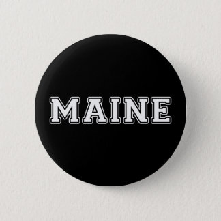 Maine 2 Inch Round Button