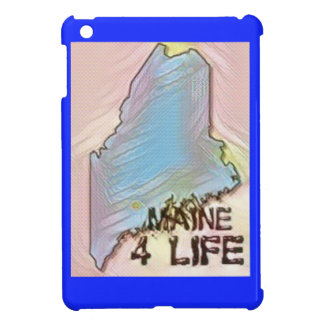 """Maine 4 Life"" State Map Pride Design Case For The iPad Mini"