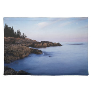 Maine, Acadia National Park, Moonset Placemat