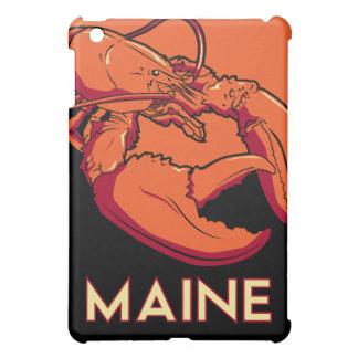 maine art deco retro travel poster case for the iPad mini